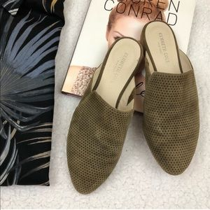 Kenneth Cole Rubie Leather Mules/ Flats